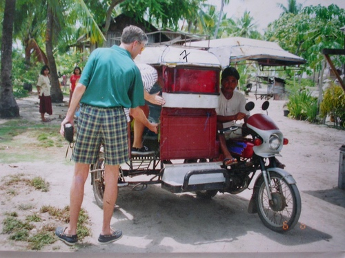 olango tricycle ride